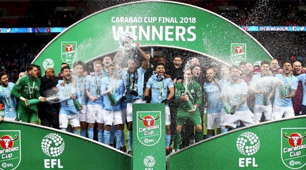 Manchester City a câștigat Cupa Ligii Angliei 2018 după 3-0 în finala cu Arsenal