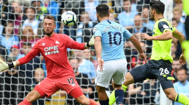 Manchester City - Huddersfield 6-1, 19 august 2018