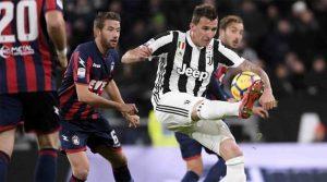 Mario Mandzukic a deschis scorul în meciul Juventus - Crotone 3-0