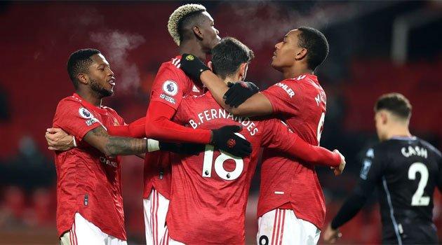Manchester United - Aston Villa 2-1, 1 ianuarie 2021