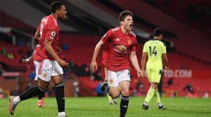 Daniel James, marcator în meciul Manchester United - Newcastle 3-1