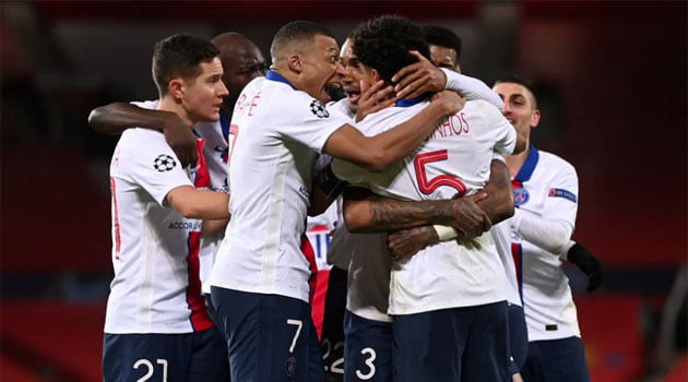 Manchester United - PSG 1-3, grupele Champions League 2020-2021