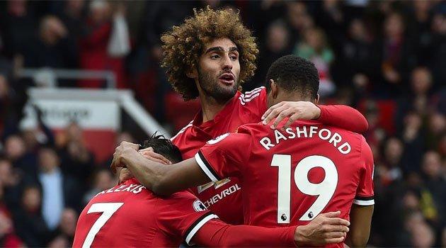 Meciul Manchester United - Arsenal 2-1 a fost decis de golul marcat în prelungiri de Fellaini
