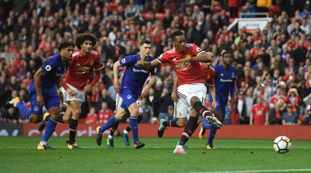 Anthony Martial (Manchester United - Everton 4-0)