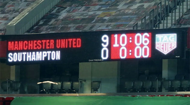 Manchester United - Southampton 9-0 (2 februarie 2021)