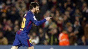 Lionel Messi în meciul Barcelona - Girona 6-1, 24 februarie 2018