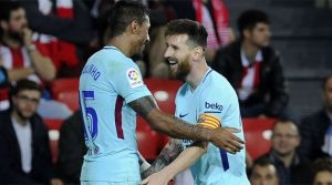 Messi și Paulinho au semnat victoria Barcelonei la Bilbao