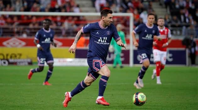 Messi, la primul meci pentru PSG