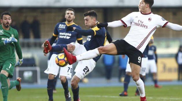 Verona - AC Milan 3-0 (17 decembrie 2017)