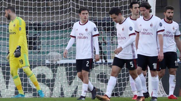 Verona - AC Milan 3-0 (Serie A, 17 decembrie 2017)