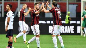 AC Milan - Cagliari 2-1 (Serie A, 27 august 2017)