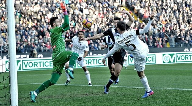 Udinese - AC Milan 2-1 (Serie A, 29 ianuarie 2017)