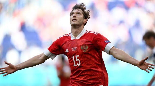 Aleksei Miranchuk a marcat unicul gol al meciului Finlanda - Rusia 0-1 de la EURO 2020