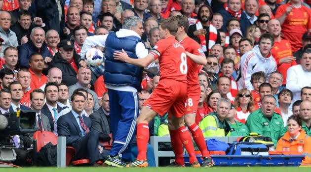 Jose Mourinho, Liverpool 0-2 Chelsea (Premier League, 2013/14)
