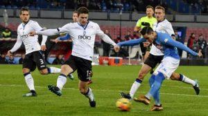 Napoli - Atalanta 1-2 (2 ianuarie 2018)