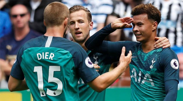 Newcastle - Tottenham 1-2, 11 august 2018