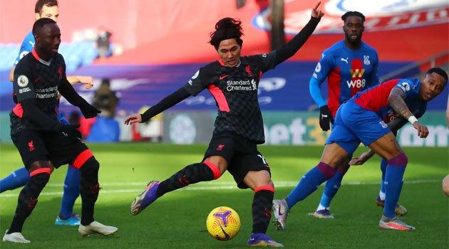Liverpool a câștigat cu 7-0 meciul din deplasare cu Crystal Palace