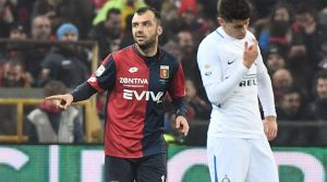 Goran Pandev a marcat în meciul Genoa - Inter 2-0