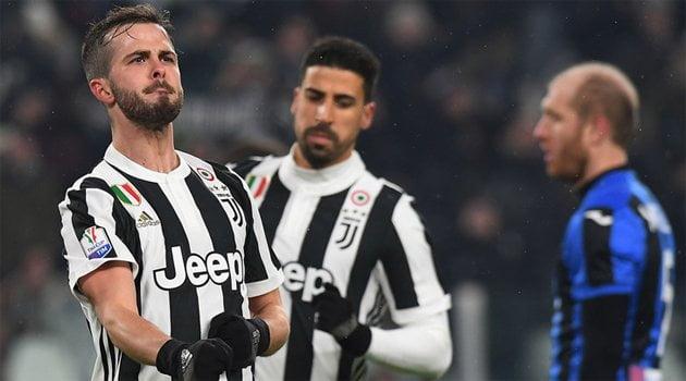 Miralem Pjanic a marcat singurul gol al meciului Juventus - Atalanta 1-0