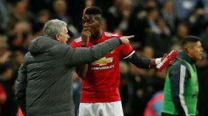 Jose Mourinho, Paul Pogba (Manchester United)