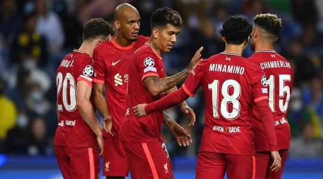 Liverpool, victorie clară la Porto în Champions League (5-1)