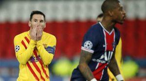 Leo Messi a ratat un penalty în meciul PSG - Barcelona 1-1 (10 martie 2021)