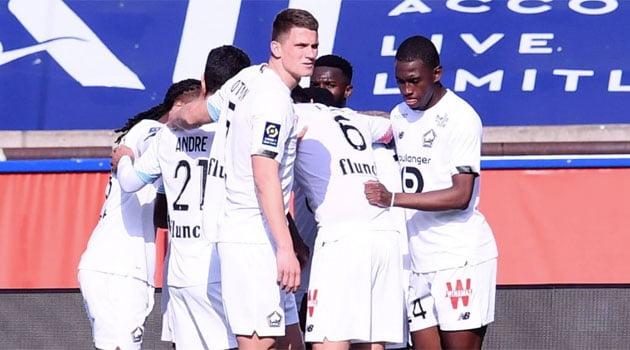 Lille s-a impus cu 1-0 pe terenul lui PSG