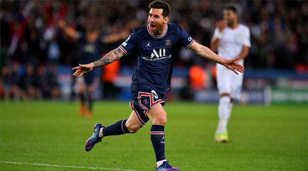 Lionel Messi a marcat primul său gol pentru PSG în meciul cu Manchester City (2-0) din Champions League