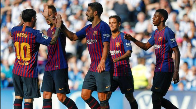 Real Sociedad - Barcelona 1-2, septembrie 2018
