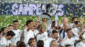 Real Madrid, campioana Spaniei în sezonul 2019-2020
