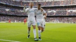 Real Madrid - Sevilla 5-0, decembrie 2017