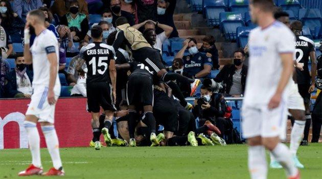 Sheriff Tiraspol a învins Real Madrid pe Santiago Bernabeu cu 2-1