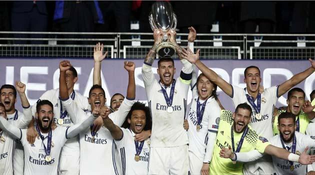 Real Madrid, câştigătoarea Supercupei Europei 2016