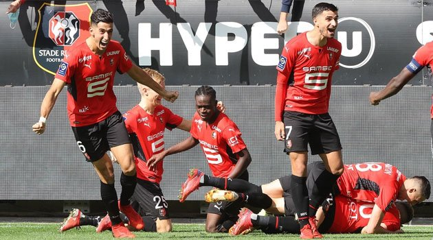 Rennes - PSG 2-0, Ligue 1, 3 octombrie 2021