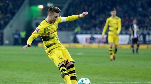 Marco Reus a marcat singurul gol al meciului Borussia Mönchengladbach - Borussia Dortmund 0-1