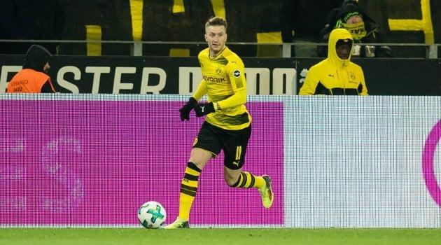 Marco Reus a deschis scorul în meciul Borussia Dortmund - Augsburg 1-1