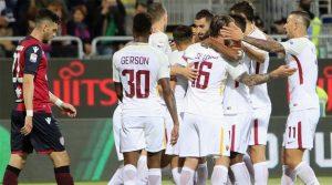 Cagliari - AS Roma 0-1