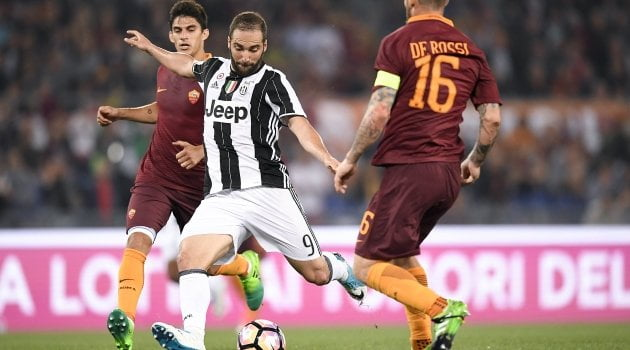 Juventus - AS Roma 1-0 (17 decembrie 2016)