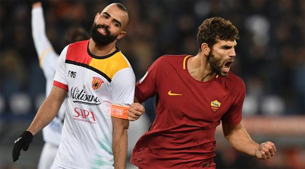 Roma - Benevento 5-2