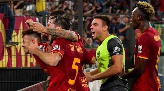 AS Roma a câștigat meciul cu Sassuolo de pe teren propriu, scor 2-1