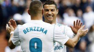 Ronaldo și Benzema au marcat câte un gol în victoria lui Real Madrid cu Malaga, 3-2