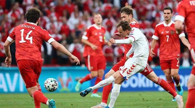 Danemarca a învins Rusia cu 4-1 și s-a calificat în optimile EURO 2020