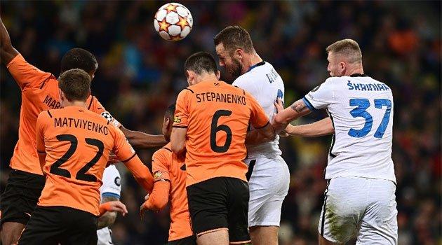 Șahtior Donețk și Internazionale Milano au remizat în Ucraina, 0-0