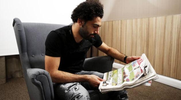 Mohad Salah a acordat un interviu ziarului spaniol MARCA