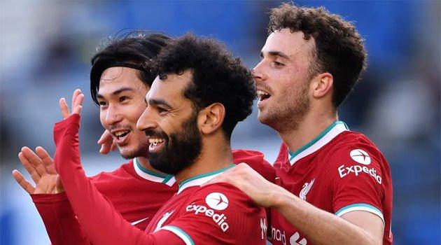 Liverpool într-un meci din Premier League 2020-2021