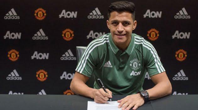 Alexis Sanchez, Manchester United
