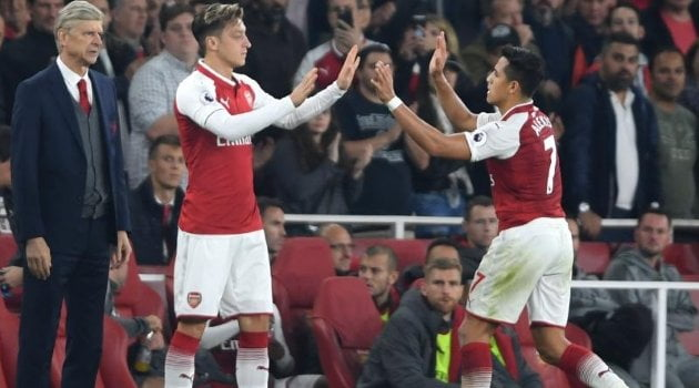 Mesut Ozil, Alexis Sanchez (Arsenal)