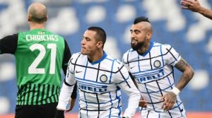 Sassuolo - Inter 0-3, noiembrie 2020