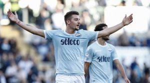 Sergej Milinkovic-Savic a marcat două goluri în meciul Sergej Milinkovic-Savic Lazio - Chievo 5-1