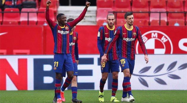 Dembele, marcator în meciul Sevilla - Barcelona 0-2